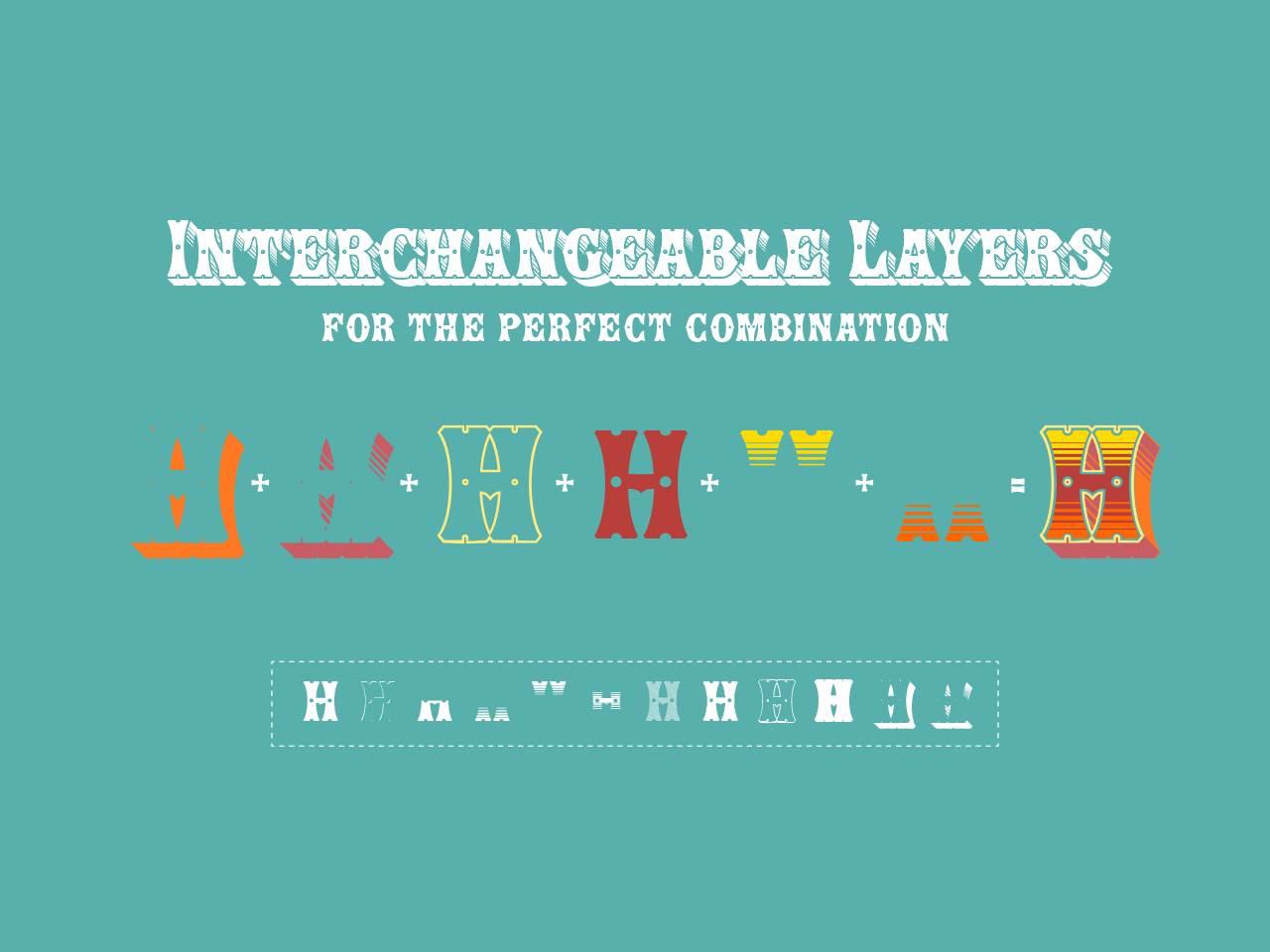 Show [Interchangeable layers]