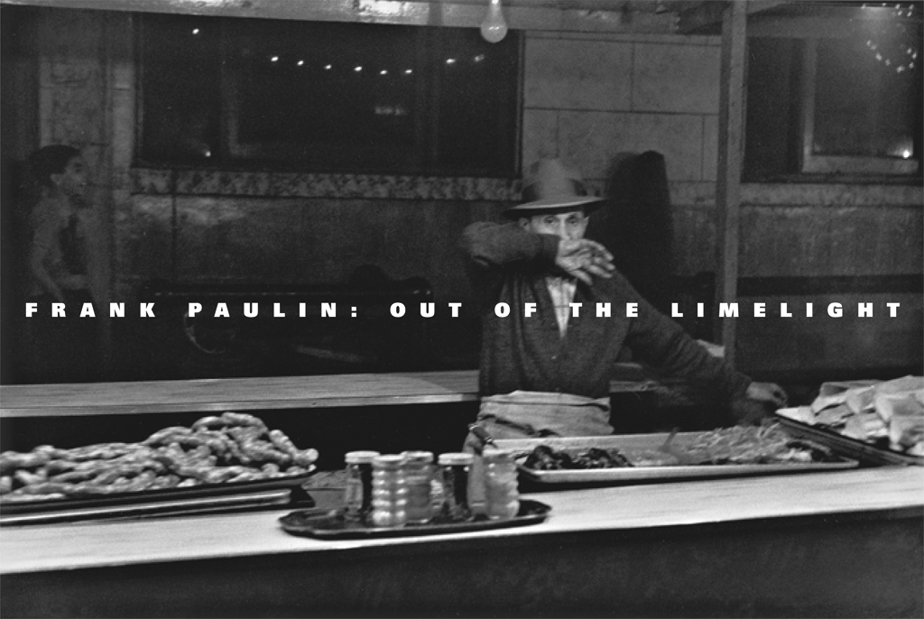 Frank Paulin: Out of the Timelight