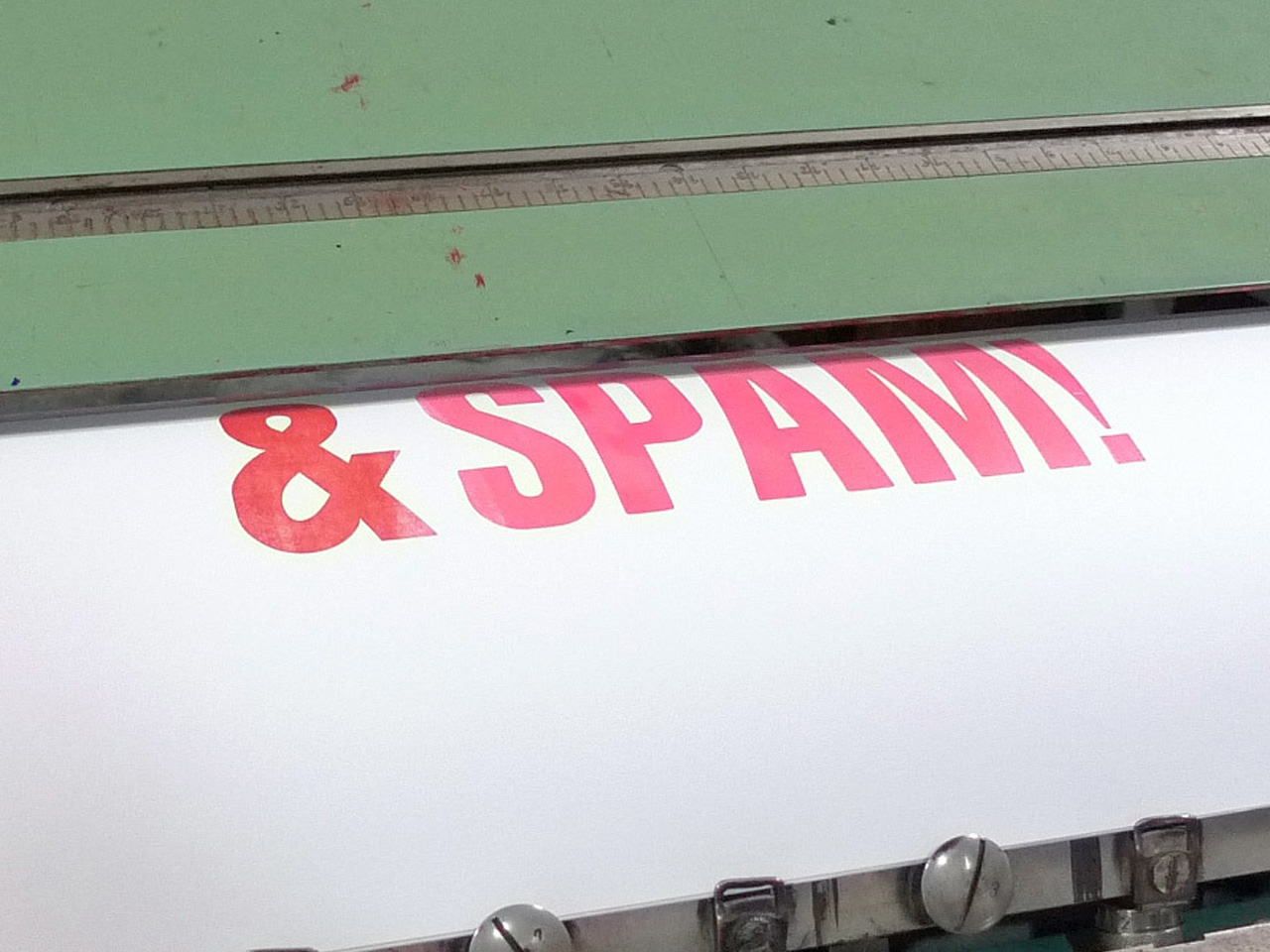Spam, spam, spam, bacon & spam! [detalle]